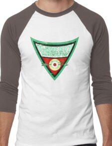 Green Arrow Logo Men's Baseball ¾ T-Shirt