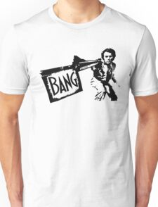 "Dirty Harry ""BANG!"" Street Art Unisex T-Shirt"