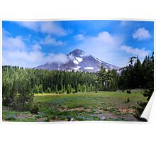 Middle Sister Three Sisters Wilderness Poster
