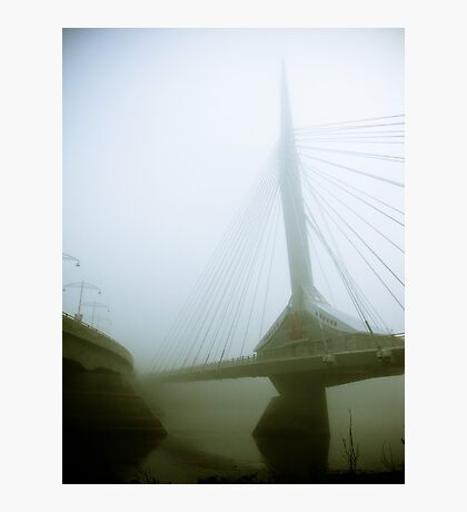 Foggy Waterfront 03 Photographic Print