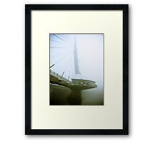 Foggy Waterfront 04 Framed Print