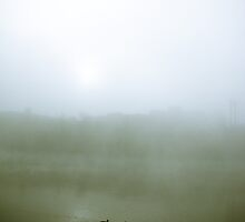 Foggy Waterfront 07 by mdkgraphics