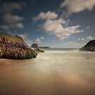 Kynance cove Cornwall by eddiej