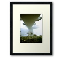 Foggy Waterfront 08 Framed Print
