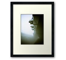 Foggy Waterfront 09 Framed Print