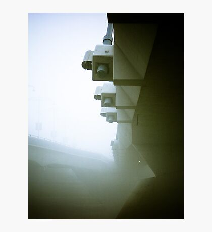 Foggy Waterfront 09 Photographic Print