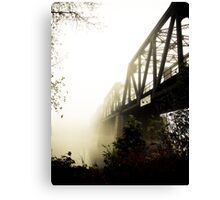 Foggy Waterfront 13 Canvas Print