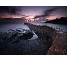Porthleven Pier Photographic Print