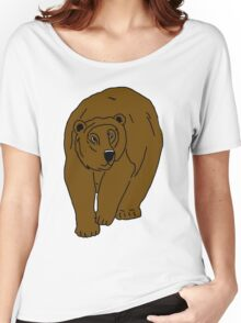 Big Brown Bear Women's Relaxed Fit T-Shirt
