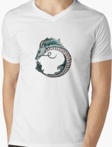 Haku Mens V-Neck T-Shirt