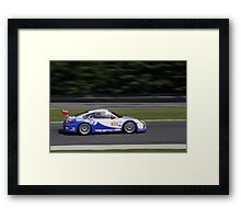 ALMS 2011 LRP Porsche 911 997 GT3 GMG Racing Framed Print