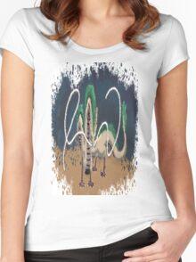 Beautiful River Spirit   Women's Fitted Scoop T-Shirt