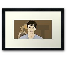 The Scorch Trials - Thomas || Framed Print
