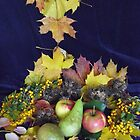 Autumn Diner.....apples, pears, berries & nuts by Heidi Mooney-Hill
