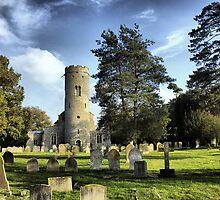 St Peters Church Forncett  by Darren Burroughs