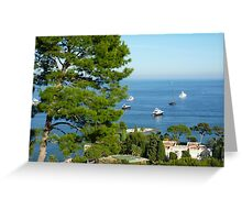 View From The Villa Greeting Card