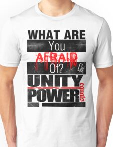 Yell it Out! Tee/wht Unisex T-Shirt