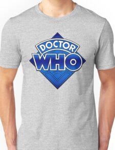 Doctor Who - Diamond Logo Blue gradient. Unisex T-Shirt