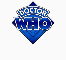 Doctor Who Diamond Logo Blue gradient. Unisex T-Shirt