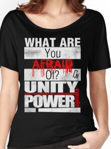 Yell it Out! Tee/blk Women's Relaxed Fit T-Shirt