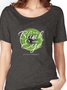 In a Blink of an Eye - you may miss something especial Women's Relaxed Fit T-Shirt