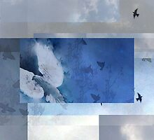 Composition With Birds and Clouds – October 27, 2011  by Ivana Redwine