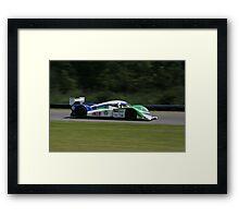 ALMS 2011 LRP Dyson Mazda Framed Print