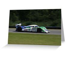 ALMS 2011 LRP Dyson Mazda Greeting Card