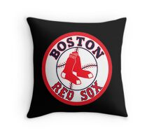 Red Sox Throw Pillow