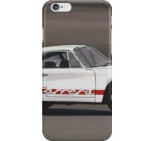 Porsche 911 Carrera RS iPhone Case/Skin