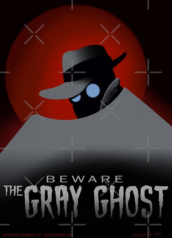 Beware the Gray Ghost! by agliarept