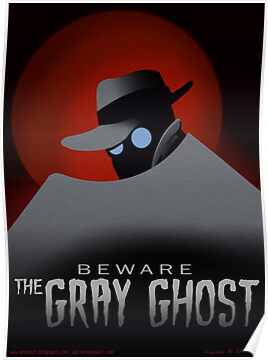 Beware the Gray Ghost! by agliarept