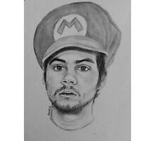 Dylan O'Brien / Stiles Stilinski / Teen Wolf/ Maze Runner Drawing. Photographic Print