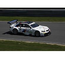 ALMS 2011 LRP BMW M3 Rahal Racing Photographic Print