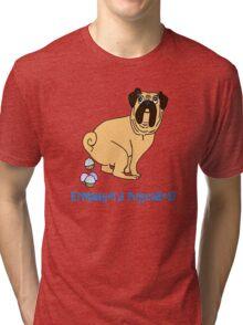 Ermahgerd Pugcakes Tri-blend T-Shirt