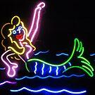 Mermaid Neon Sign by Karin  Hildebrand Lau
