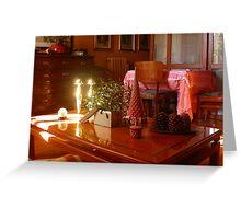 Un raggio di sole...un ramo di vischio...un tavolino. 2500 visualizzaz a gennaio 2013...FEATURED RB EXPLORE 1 NOVEMBRE 2011... Greeting Card