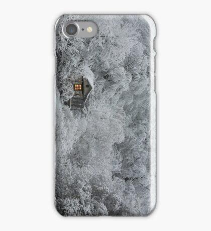 Snowy Cabin iPhone Case/Skin