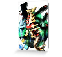 Giratina (Pokémon / By Cisou) Greeting Card