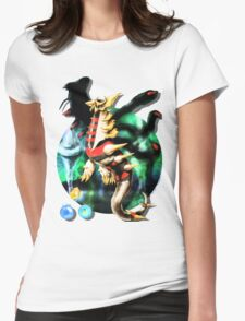 Giratina (Pokémon / By Cisou) Womens Fitted T-Shirt