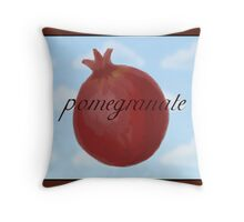 Surrealist Pomegranate Throw Pillow