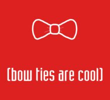 Bow Ties Are Cool Kids Clothes