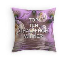 For a contest Throw Pillow