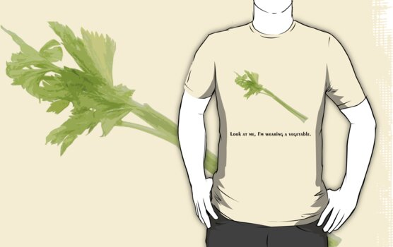 Wearing a Vegetable by Deastrumquodvic