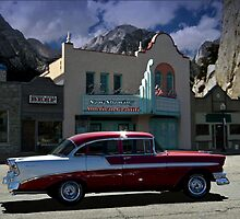 1956 Chevrolet 4 Door Sedan by TeeMack