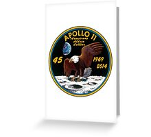 Apollo 11: 45th Anniversary Mission Patch Greeting Card