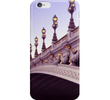 Pont Alexandre III iPhone Case/Skin