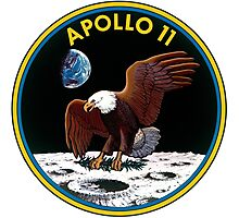 Apollo 11: The Eagle Has Landed Photographic Print