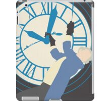 Back to the Future poster iPad Case/Skin