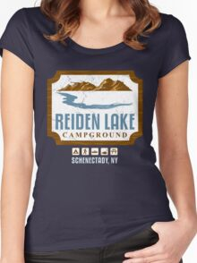 Reiden Lake Campground Women's Fitted Scoop T-Shirt